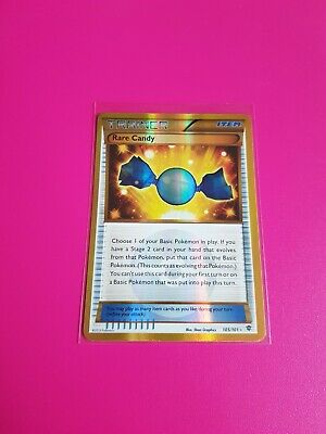 Pokemon Rare Candy Trainer Secret Rare B&W Plasma Blast 105/101 Near Mint - Mint