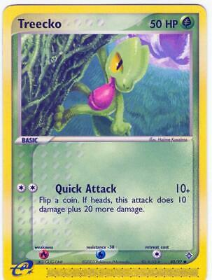 (pok-DR-080) Treecko (C) Pokemon EX Dragon Card # 80