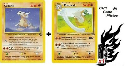 Marowak   Cubone  | Pokemon Jungle Unlimited Uncommon 39/64 MP Evolved Form