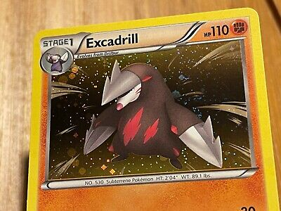 Excadrill 56/98 Holo Rare B&W Emerging Powers Pokemon Card Mint