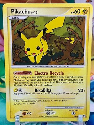 Pokemon Pikachu 94/123 - Mysterious Treasures - LP