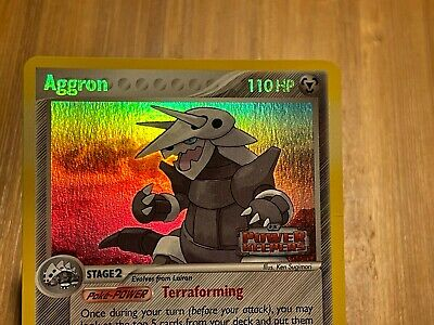 Aggron 1/108 Reverse Holo - EX Power Keepers Stamped - Pokemon Card