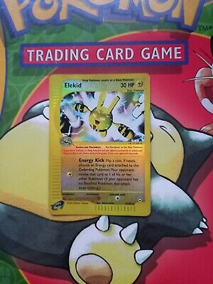 Elekid 9/147 Aquapolis Reverse Holo Rare Pokemon Card