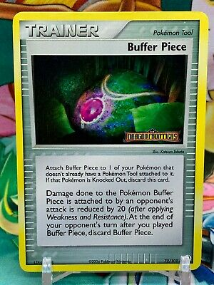 Buffer Piece 72/101 Holo Stamped Ex Dragon Frontiers Pokemon Card LP