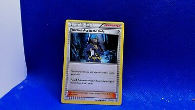 Pokemon Card Xy Primal Clash - Archie's Ace In The Hole 124/160