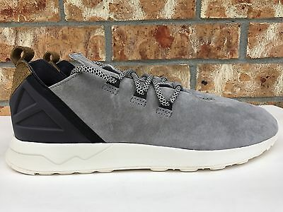 26ef25a01d6a2 Men s Adidas Originals ZX Flux ADV X Light Onix Khaki White Suede S76364
