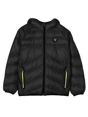 Разное EA7 Junior Black Bubble Jacket