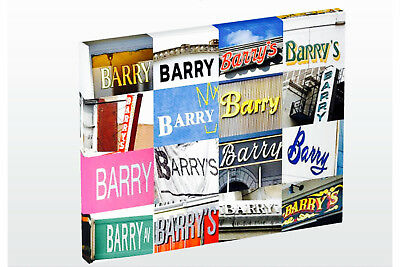 Разное Personalized Photo Canvas featuring BARRY