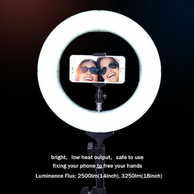 Вспышки Dimmable LED Ring Flash Light