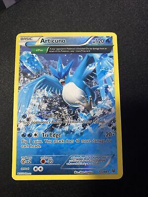 Articuno 17/108 - Near Mint NM Half Art RARE Roaring Skies Pokemon Card