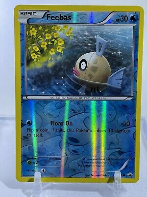 Pokemon TCG XY Primal Clash - Feebas 43/160 Reserve Holo Common