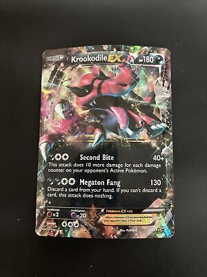 Pokemon Krookodile EX XY25 Black Star Promo Ultra Rare