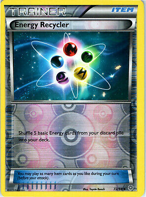 Ancient Origins Reverse Holo Energy Recycler 72/98 Pokemon Trading Card LP NM