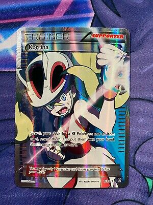 Korrina (Full Art) Furious Fists Ultra Rare NM Pokemon Card 2014 Waifu