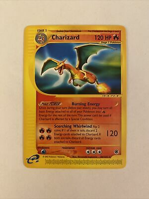 Charizard Expedition Base Set (40/165) 2002 Mint Pokemon Card, Never Played!