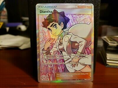 Pokemon Forbidden Light DIANTHA Full Art Holo Ultra Rare Trainer 130/131 - PSA ?