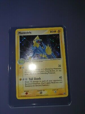 Manectric 7/106 EX Emerald Rare Holo Pokemon Card M/NM