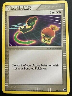 EX Dragon Frontiers Switch - 83/101 Trainer Play Set Pokemon Card