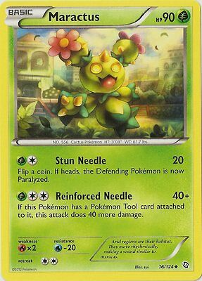 x4 Maractus - 16/124 - Uncommon Pokemon BW6 Dragons Exalted M/NM English