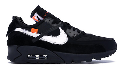 75d8db3b8f1 Air Max 90 OFF-WHITE Black AA7293-001 Virgil Abloh Men s StockX Authentic