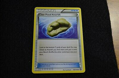 Pokemon CLAW FOSSIL ANORITH XY Steam Siege 100/114 NM/Mint Never Played Cards