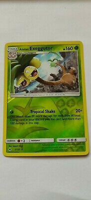 Alolan Exeggutor 2/131 REV Holo/Shiny Rare, Pokemon Card, SM Forbidden Light,