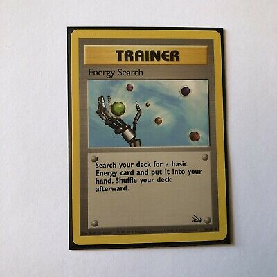 Pokemon TCG Energy Search 59/62 Trainer Common Fossil
