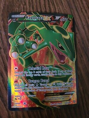 Rayquaza-EX -  - Full Art Ultra Rare NM Dragons Exalted Pokemon