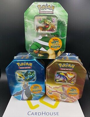 Pokemon Infernape Torterra Empoleon Lv.X Tin Diamond & Pearl Factory Sealed 2007