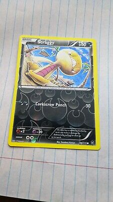 Pokemon Scraggy 66/111 Uncommon Nm Card Furious Fists