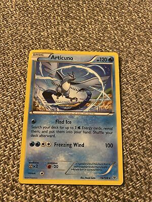 Pokemon Card Articuno 16/108 XY Roaring Skies near mint!