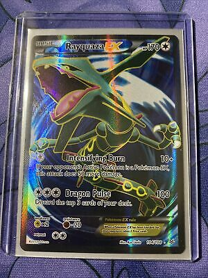 Rayquaza EX FULL ART 104/108 - Pokemon Roaring Skies