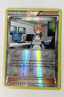 Pokemon TCG 1x Brigette 134/162 - Uncommon - BREAKthrough NM