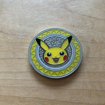 Pokemon XY Premium Trainer Collection Pikachu Limited Edition COIN NM/M