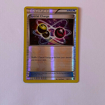 Pokemon TCG - Special Charge (Reverse Holo) - 105/114 - Steam Siege - NEW