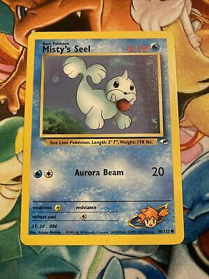 Misty's Seel - 88/132 Gym Heroes Unlimited Common Pokemon - NM