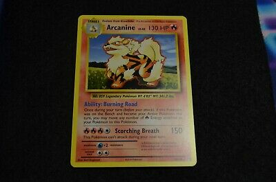 Pokemon ARCANINE RARE XY Evolutions 18/108 NM/Mint Never Played Cards