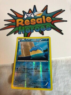 Spheal - Dragons Exalted - 29/124 - Reverse HOLO Pokemon Card - MP