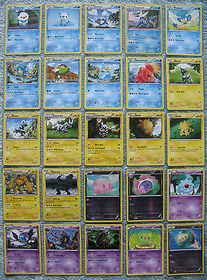 Pokemon TCG Black and White Holo, Rare, Uncommon & Common Cards [Part 2/4]