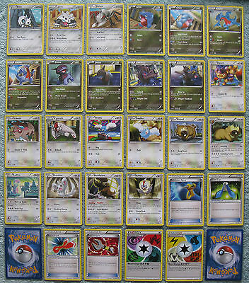 Pokemon TCG B&W Dragons Exalted Common & Uncommon Card Selection [Part 3/3]