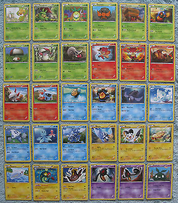 Pokemon TCG B&W Noble Victories Common & Uncommon Card Selection [Part 1/2]
