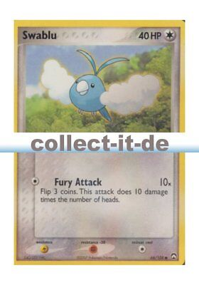 Pokemon EX Power Keepers - 66/108 - Swablu - ENGLISCH