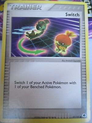 Single Pokemon Trainer Card - Switch from 2006 EX Dragon Frontiers - Common