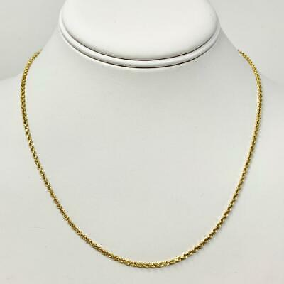 89ac1078315c6 Mens 14k Solid Gold Rope Chain Top Deals   Lowest Price ...