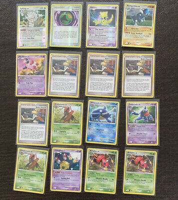 Pokemon Mysterious Treasures Card Bundle Dusk Ball Rampardos Chingling Slaking