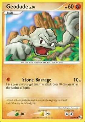 Geodude - 65/99 - Common NM Arceus Pokemon 2B3