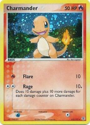 Charmander - 113/112 - Ultra-Rare NM FireRed & LeafGreen Pokemon