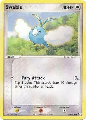 Swablu - 66/108 - Common PL Power Keepers Pokemon 2B3