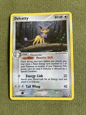 Pokemon Holo Foil Card : Delcatty  4/92 (Ex Legend Maker) #2