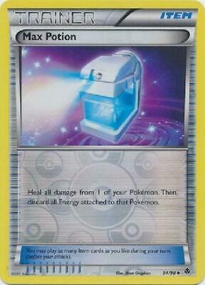 Max Potion - 94/98 - Uncommon Reverse Foil new Emerging Powers Pokemon 2B3